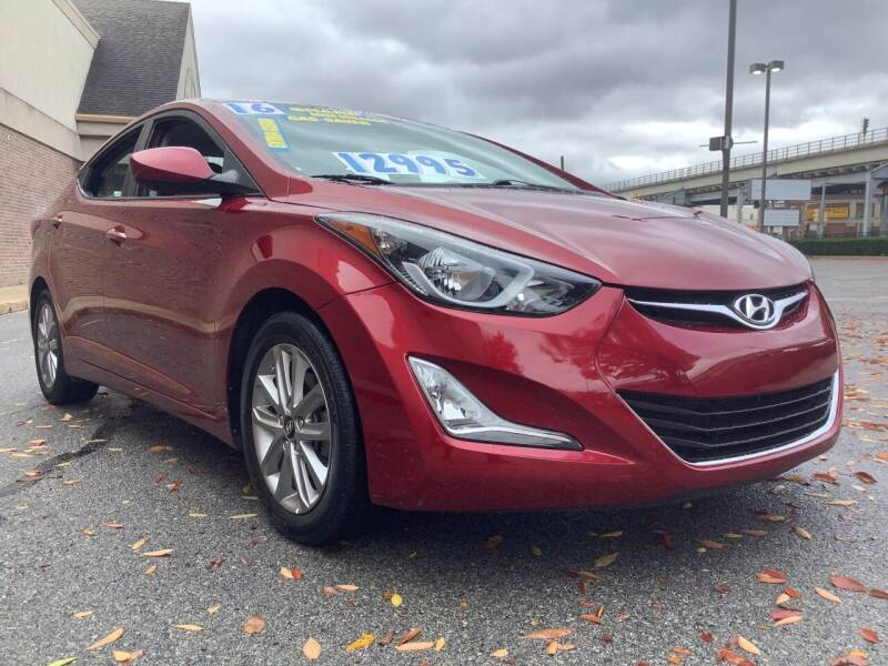 2016 Hyundai Elantra for sale at Active Auto Sales Inc in Philadelphia PA