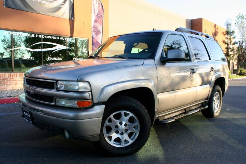 2002 Chevrolet Tahoe for sale at CK Motors in Murrieta CA