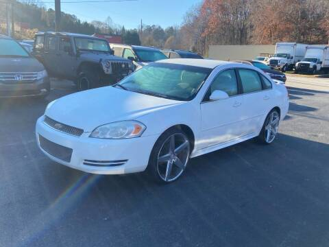 2013 Chevrolet Impala for sale at Luxury Auto Innovations in Flowery Branch GA