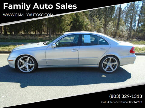 2007 Mercedes-Benz E-Class for sale at Family Auto Sales in Rock Hill SC