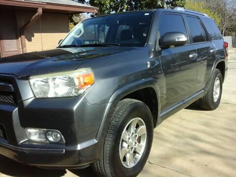 2010 Toyota 4Runner for sale at John 3:16 Motors in San Antonio TX