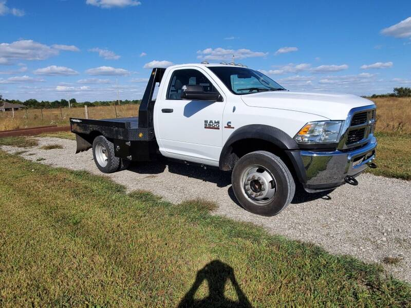 2012 RAM Ram Chassis 5500 for sale at Varco Motors LLC - Inventory in Denison KS