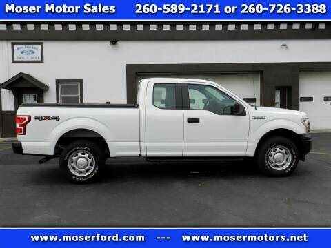 2019 Ford F-150 for sale at Moser Motors Of Portland in Portland IN