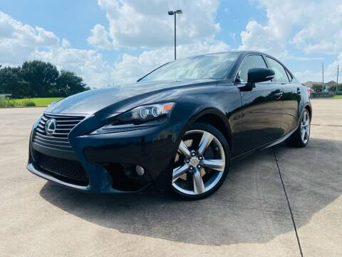 2014 Lexus IS 350 for sale at AUTO DIRECT Bellaire in Houston TX