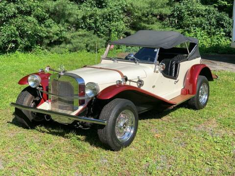 1936 Mercedes SSK Replica for sale at MEE Enterprises Inc in Milford MA