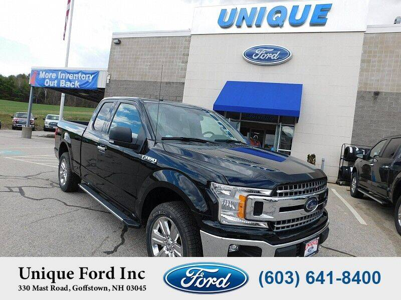 2018 Ford F-150 for sale at Unique Motors of Chicopee - Unique Ford in Goffstown NH