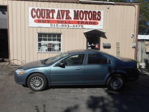 2006 Chrysler Sebring for sale at Court Avenue Motors in Adel IA