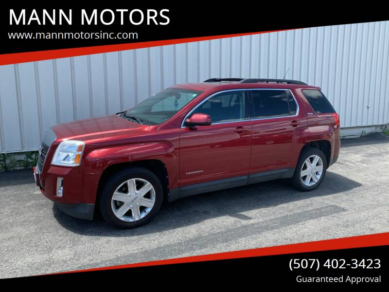 2012 GMC Terrain for sale at MANN MOTORS in Albert Lea MN