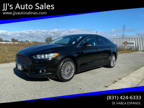 2014 Ford Fusion for sale at JJ's Auto Sales in Salinas CA