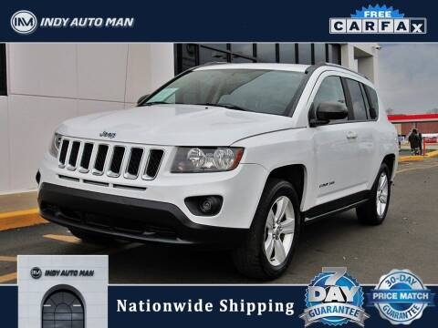 2015 Jeep Compass for sale at INDY AUTO MAN in Indianapolis IN