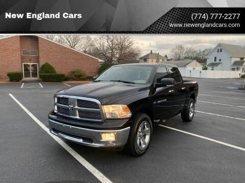 2012 RAM Ram Pickup 1500 for sale at New England Cars in Attleboro MA