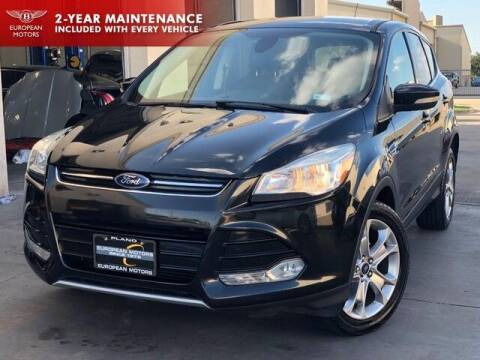 2013 Ford Escape for sale at European Motors Inc in Plano TX