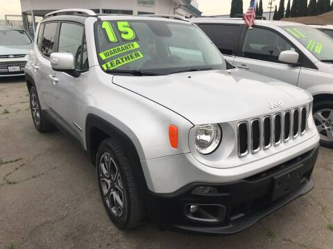 2015 Jeep Renegade for sale at CAR GENERATION CENTER, INC. in Los Angeles CA