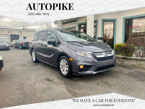 2019 Honda Odyssey for sale at Autopike in Levittown PA