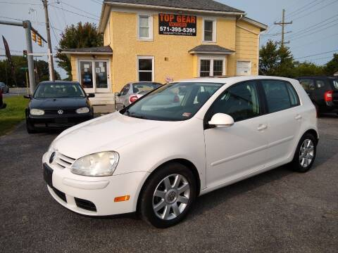 2009 Volkswagen Rabbit for sale at Top Gear Motors in Winchester VA