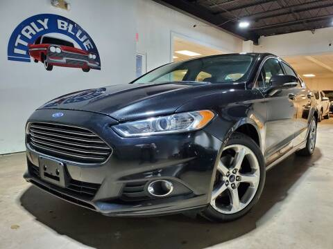 2014 Ford Fusion for sale at Italy Blue Auto Sales llc in Miami FL
