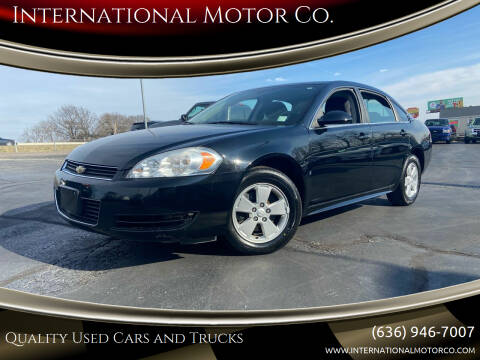 2009 Chevrolet Impala for sale at International Motor Co. in St. Charles MO
