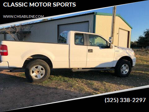 2007 Ford F-150 for sale at CLASSIC MOTOR SPORTS in Winters TX