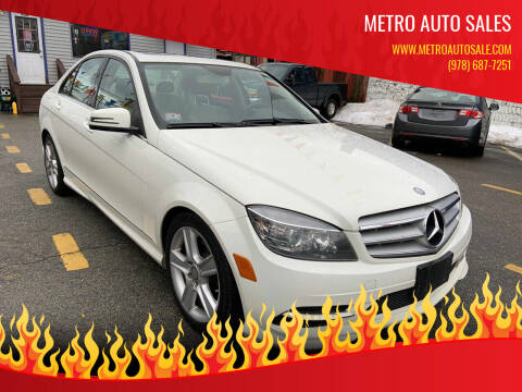 2011 Mercedes-Benz C-Class for sale at Metro Auto Sales in Lawrence MA