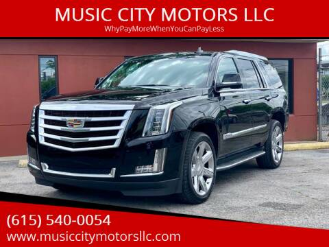 2015 Cadillac Escalade for sale at MUSIC CITY MOTORS LLC in Nashville TN