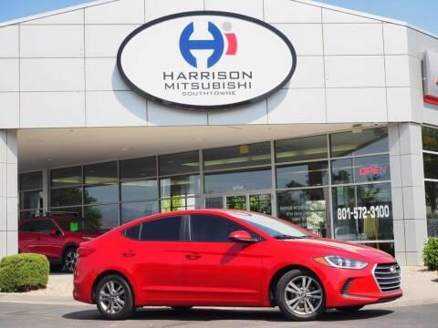 2017 Hyundai Elantra for sale at Harrison Imports in Sandy UT