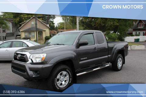 2013 Toyota Tacoma for sale at Crown Motors in Schenectady NY