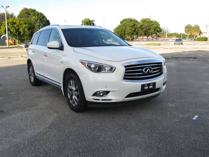 2014 Infiniti QX60 Hybrid for sale at United Auto Center in Davie FL