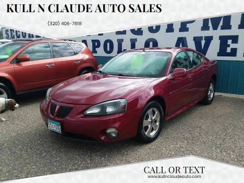 2005 Pontiac Grand Prix for sale at Kull N Claude Auto Sales in Saint Cloud MN
