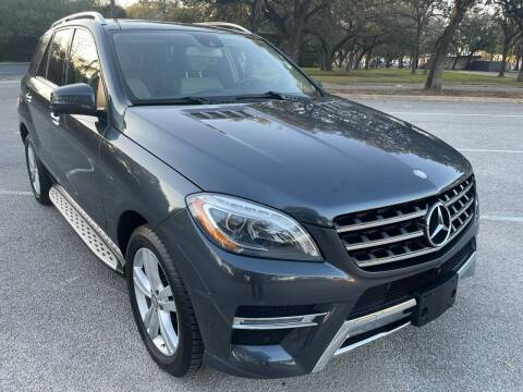 2015 Mercedes-Benz ML350 for sale at PRESTIGE AUTOPLEX LLC in Austin TX