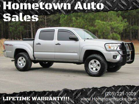 2015 Toyota Tacoma for sale at Hometown Auto Sales - Trucks in Jasper AL