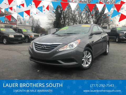 2011 Hyundai Sonata for sale at LAUER BROTHERS SOUTH in York PA