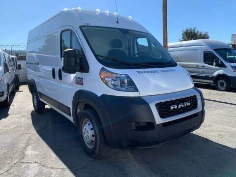 2019 RAM ProMaster Cargo for sale at Best Buy Quality Cars in Bellflower CA