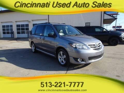 2005 Mazda MPV for sale at Cincinnati Used Auto Sales in Cincinnati OH