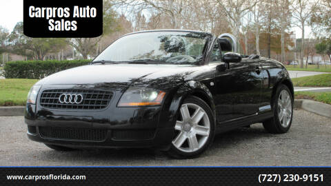 2006 Audi TT for sale at Carpros Auto Sales in Largo FL