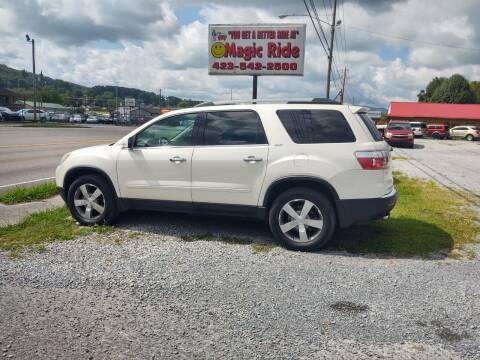 2011 GMC Acadia for sale at Magic Ride Auto Sales in Elizabethton TN