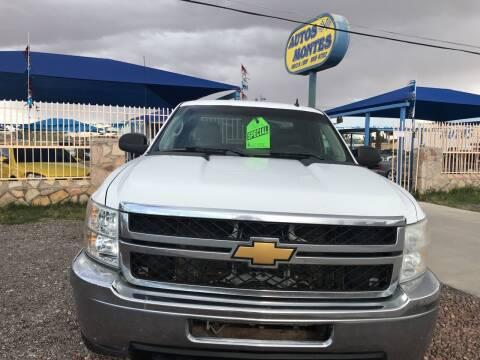 2013 Chevrolet Silverado 2500HD for sale at Autos Montes in Socorro TX