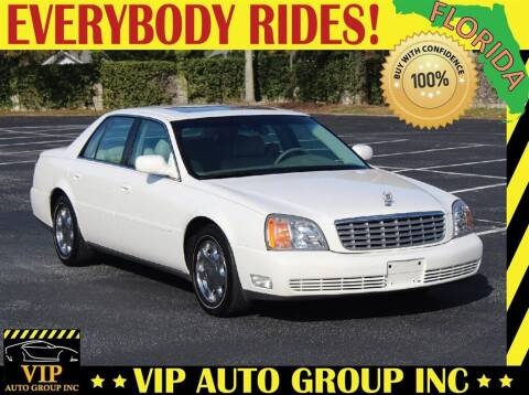 2001 Cadillac DeVille for sale at VIP Auto Group in Clearwater FL