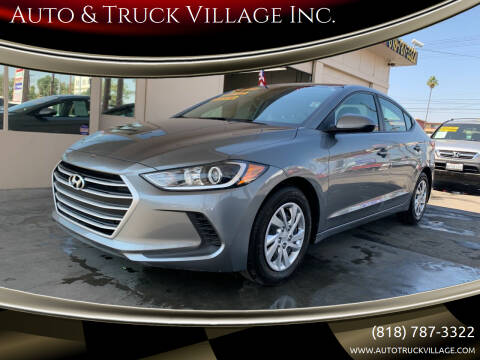 2018 Hyundai Elantra for sale at Auto & Truck Village Inc. in Van Nuys CA