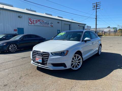 2016 Audi A3 for sale at SUPER AUTO SALES STOCKTON in Stockton CA
