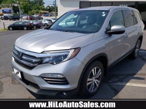 2017 Honda Pilot for sale at Hi-Lo Auto Sales in Frederick MD