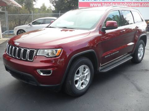 2017 Jeep Grand Cherokee for sale at T & S Auto Brokers in Colorado Springs CO