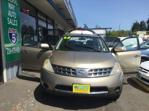 2006 Nissan Murano for sale at Federal Way Auto Sales in Federal Way WA