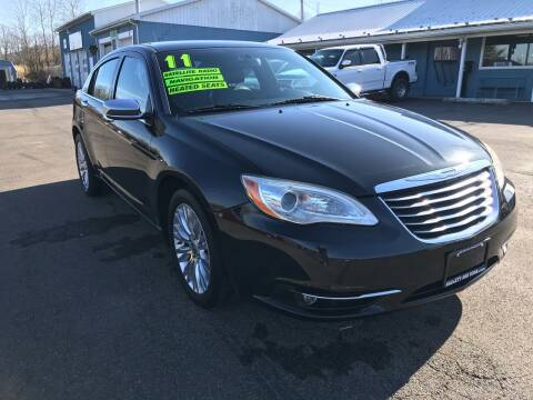 2011 Chrysler 200 for sale at HACKETT & SONS LLC in Nelson PA