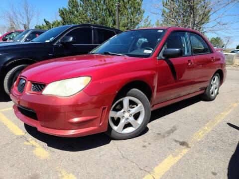 2007 Subaru Impreza for sale at Cool Rides of Colorado Springs in Colorado Springs CO