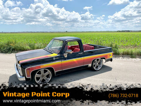 1980 Chevrolet Blazer for sale at Vintage Point Corp in Miami FL