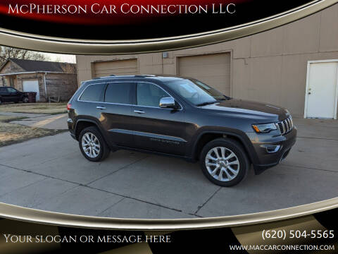 2017 Jeep Grand Cherokee for sale at McPherson Car Connection LLC in Mcpherson KS