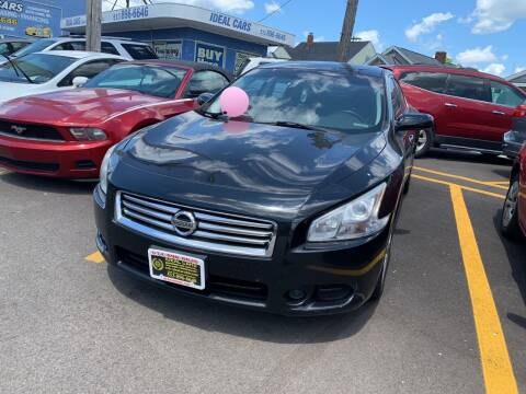 2012 Nissan Maxima for sale at Ideal Cars in Hamilton OH