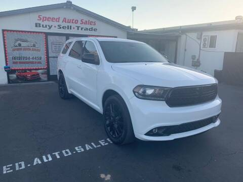 2016 Dodge Durango for sale at Speed Auto Sales in El Cajon CA