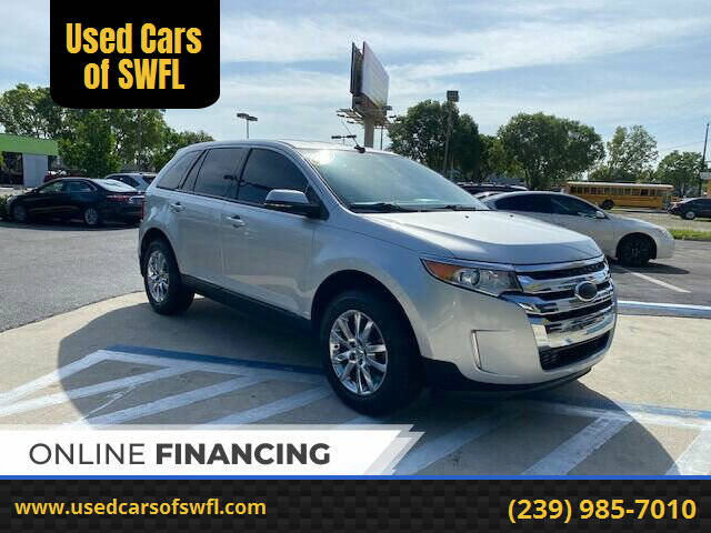 2013 Ford Edge for sale at Used Cars of SWFL in Fort Myers FL