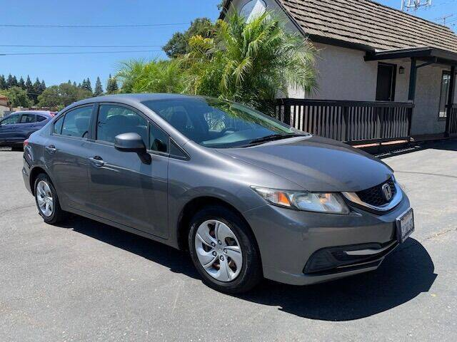 2013 Honda Civic for sale at Three Bridges Auto Sales in Fair Oaks CA